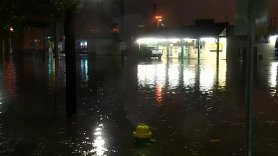 CBS This Morning - Nor'easter dumps heavy rain across East Coast
