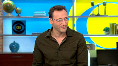 "CBS This Morning - Simon Sinek on new book ""The Infinite Game"""