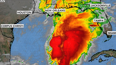 CBS This Morning - Tropical storm expected to form in Gulf Coast