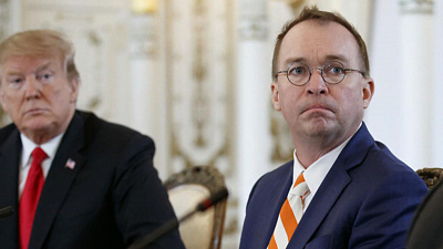 CBS This Morning - Mulvaney under fire after Ukraine comments