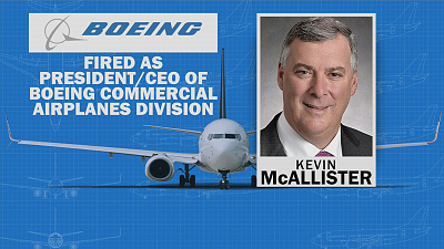 CBS This Morning - Boeing exec Kevin McAllister ousted