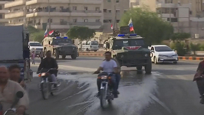CBS This Morning - Russian troops moving into Kurdish areas