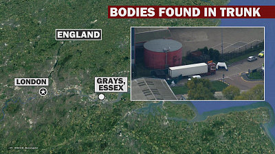 CBS This Morning - 39 bodies discovered in truck in England
