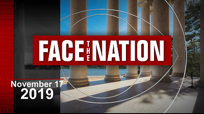 Face The Nation - 11/17: Face The Nation