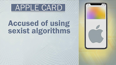 CBS This Morning - Apple Card accused of gender discrimination