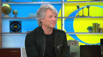 CBS This Morning - Bon Jovi finds hope in new song for veterans
