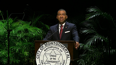 "CBS This Morning - New Montgomery mayor hopes MLK Jr. is ""proud"""