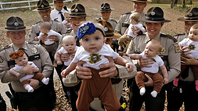 CBS This Morning - Missouri sheriff's department sees baby boom