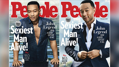 "CBS This Morning - John Legend named ""2019 Sexiest Man Alive"""