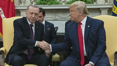CBS This Morning - Turkish leader plays anti-Kurds video at WH