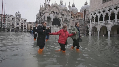 CBS This Morning - Latest Venice floods are a disaster