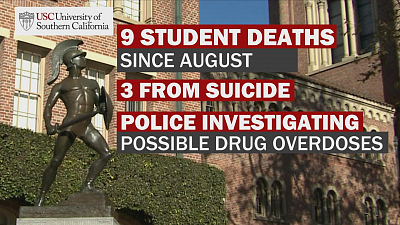 CBS This Morning - 9 USC students have died this school year