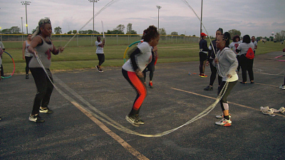 CBS This Morning - Women find freedom through Double Dutch