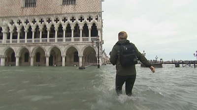 CBS This Morning - Venice high tide could hit twice normal level