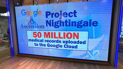"CBS This Morning - Google's ""Project Nightingale"" sparks concerns"