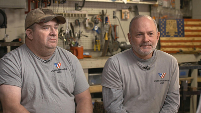 CBS This Morning - Blacksmith classes for veterans with PTSD