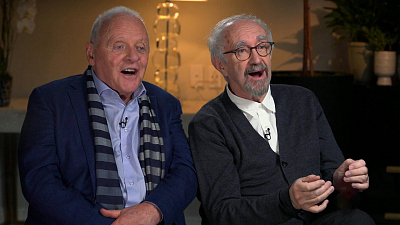 """Sunday Morning - Anthony Hopkins and Jonathan Pryce on """"The Two Popes"""""""