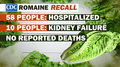 CBS This Morning - E. coli outbreak linked to romaine lettuce