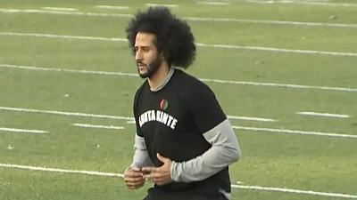CBS This Morning - Redskins sign receiver at Kaepernick workout