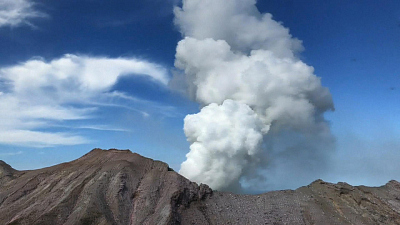 CBS This Morning - New Zealand volcano recovery efforts on hold