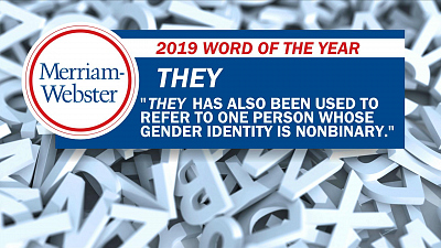 "CBS This Morning - ""They"" is Merriam-Webster's word of the year"
