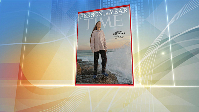 CBS This Morning - Greta Thunberg named Time Person of the Year