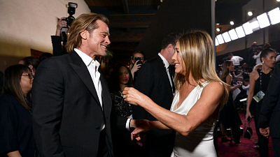 CBS This Morning - Pitt, Aniston reunion at SAG Awards