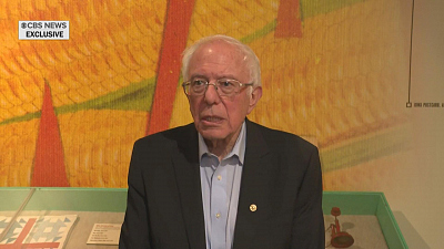 CBS This Morning - Sanders issues rare apology to Biden