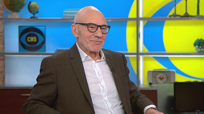 "CBS This Morning - Patrick Stewart on rejoining ""Star Trek"""