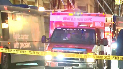 CBS This Morning - Manhunt for downtown Seattle shooters