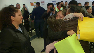 CBS This Morning - Migrant families reunite after deportations
