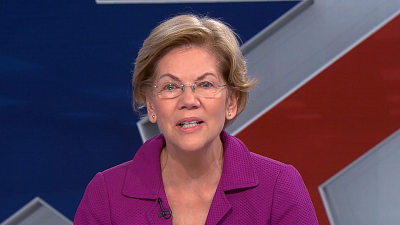 CBS This Morning - Warren on battles in Iowa and the Senate