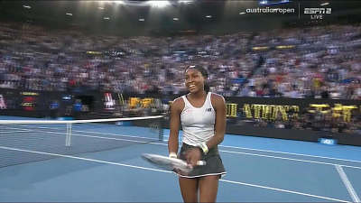 CBS This Morning - Coco Gauff beats Naomi Osaka