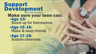 CBS This Morning - How teen friendships can affect your adult life