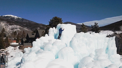 CBS This Morning - Inside Colorado's Ice Castles