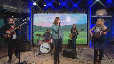 CBS This Morning - Bonny Light Horseman plays self-titled song