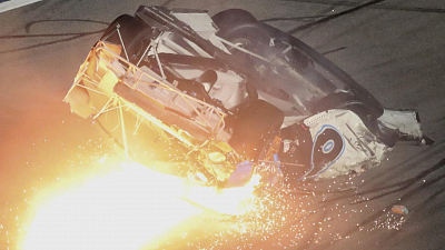 CBS This Morning - Daytona crash raises new questions about NASCAR's safety