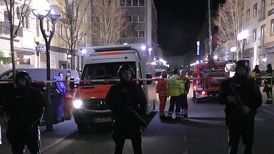 CBS This Morning - Gunman kills 9 at two German hookah bars