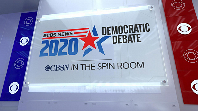 CBS News Specials - Democratic candidates at CBS News spin room