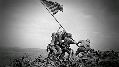 Sunday Morning - The Battle of Iwo Jima, 75 years ago