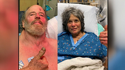 "CBS This Morning - Couple's ""miracle"" survival in woods"