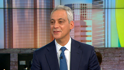 CBS This Morning - Rahm Emanuel says Sanders needs moderates