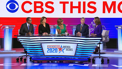 CBS This Morning - CBS News debate moderators on what's at stake