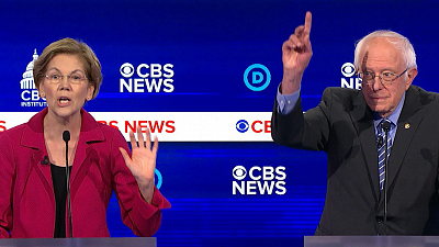 CBS This Morning - Winners and losers of the Democratic debate