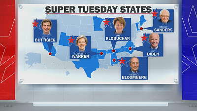CBS This Morning - How are Dems preparing for Super Tuesday?