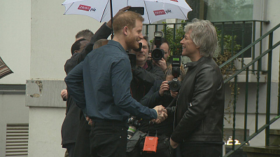 CBS This Morning - Bon Jovi joins Harry for Invictus Games