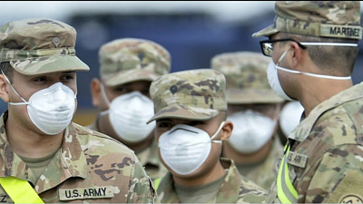CBS This Morning - Inside the Army's coronavirus field hospital