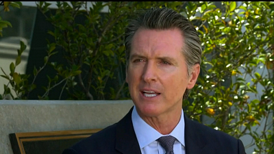CBS This Morning - California governor on state's virus response