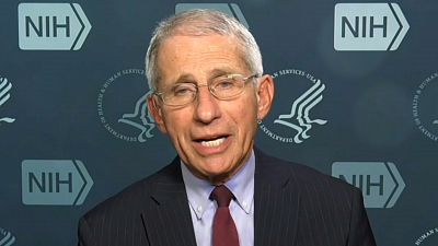 CBS This Morning - Fauci reacts to reports he needs security