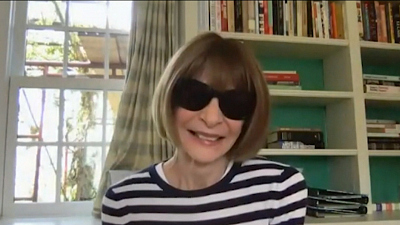 CBS This Morning - Anna Wintour on fashion rescue fund